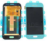 Дисплей для Samsung J110H/DS Galaxy J1 Ace + тачскрин, бирюзовый, Turquoise, оригинал 100%