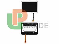 """Дисплей для Samsung T530 Galaxy Tab 4 10.1""""/T531/T535 + тачскрин, белый, с передней панелью, оригинал (Китай)"""