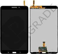 "Дисплей для Samsung T331 Galaxy Tab 4 8.0"", версия 3G + тачскрин, черный, Ebony Black"