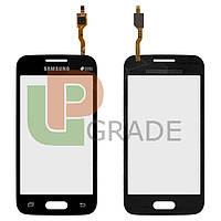 Тачскрин (сенсор)  Samsung G313H Galaxy Ace 4 Lite/G313HD, черный, без фронтальной камеры