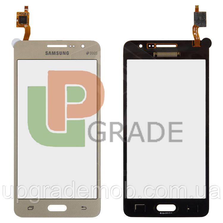 Тачскрин сенсор Samsung G530H Galaxy Grand Prime/G530F золотистый ic BT541 оригинал