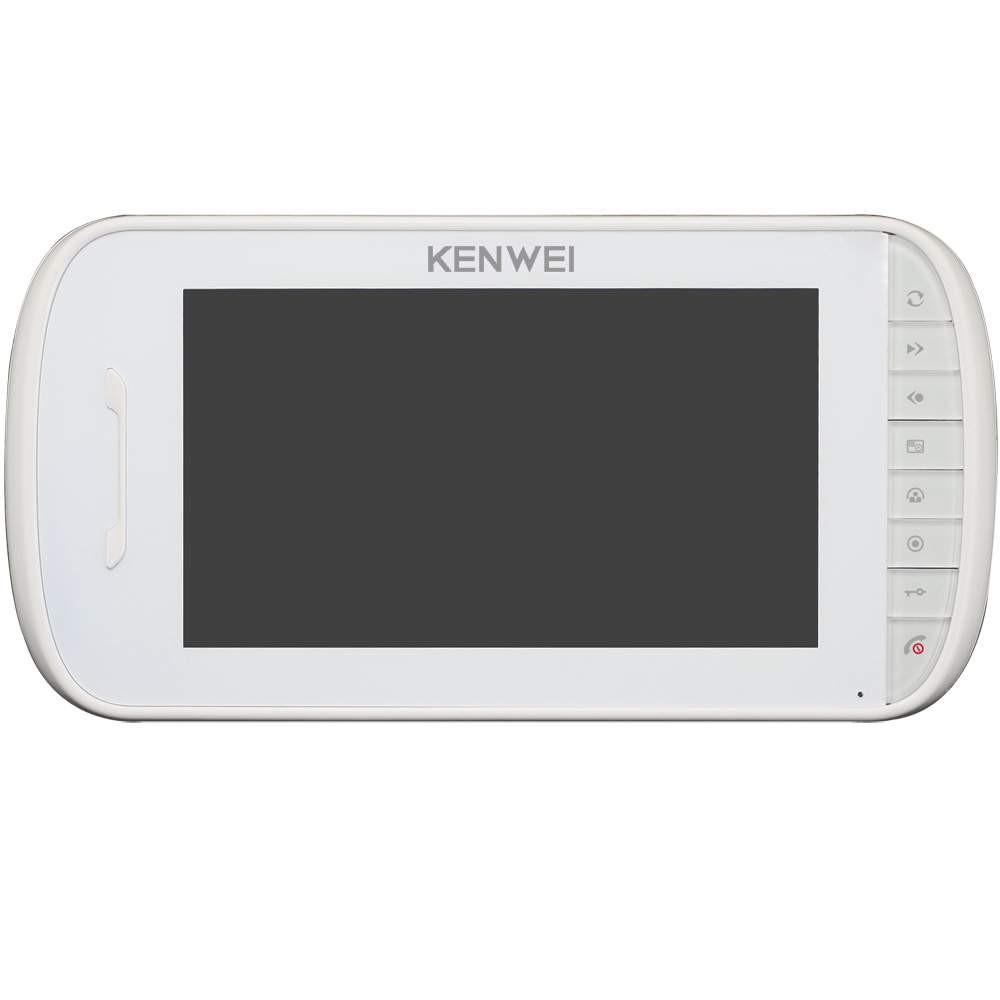Цветной домофон Kenwei E703C (white)