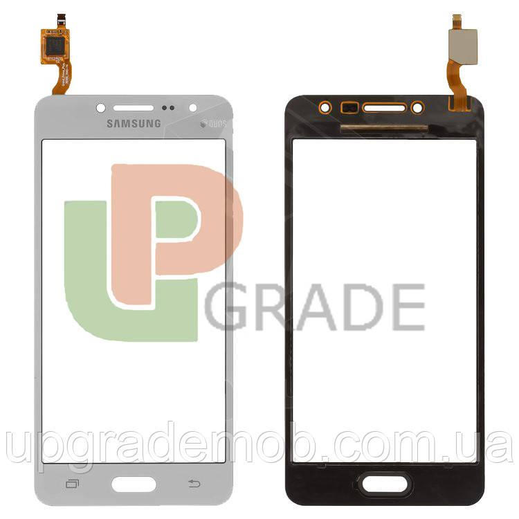 Тачскрин сенсор Samsung G532F Galaxy J2 Prime серебристый