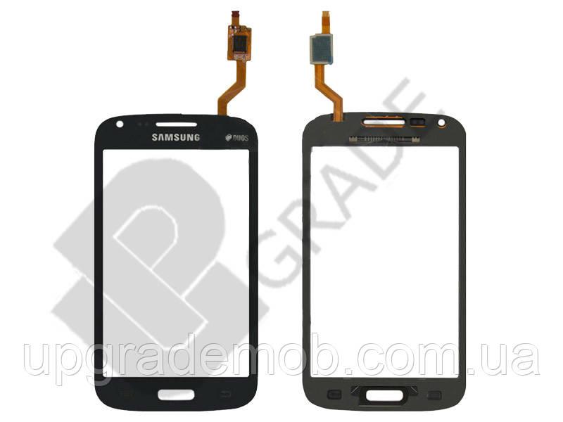 Тачскрин Samsung i8260 Galaxy Core/i8262, синий, Metallic Blue