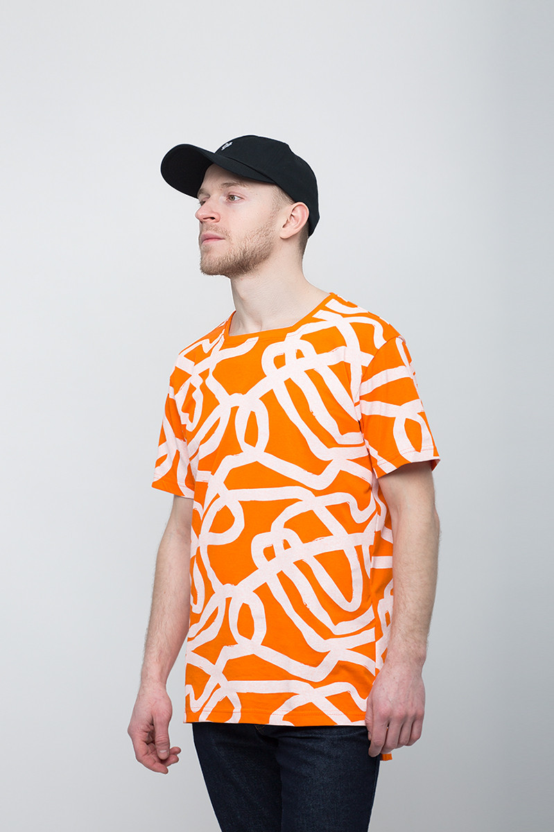 8109d3ea181 Мужская футболка Urban Planet - Lines OR - Интернет-магазин