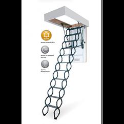 Металеві сходи на горище LiteStep OST-B  Металическая чердачна  лестница LiteStep OST-B