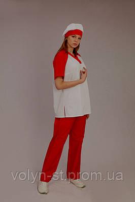 Костюм хирургический женский, медицинский комплект