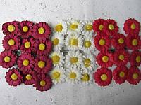 Ромашки бумажные (2,5 см) (3)