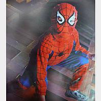 Детский карнавальный костюм Спайдермен синий