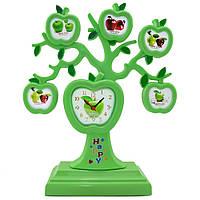 Распродажа! Семейное Дерево 5 фото Яблоки + Часы