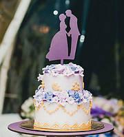 Свадебный топпер в торт