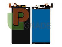 Дисплей для Sony E5333 Xperia C4 Dual Sim/E5343/E5353/E5363/E5303/E5306 + тачскрин, черный, оригинал (Китай)
