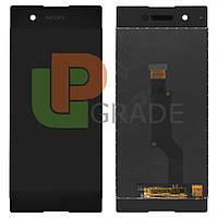 Дисплей  Sony G3112 Xperia XA1 Dual/G3116/G3121/G3123/G3125 с тачскрином (модуль), черный, оригинал
