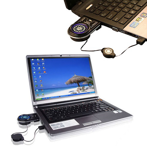 Внешний usb кулер для охлаждения ноутбуков, вентилятор для ноутбука