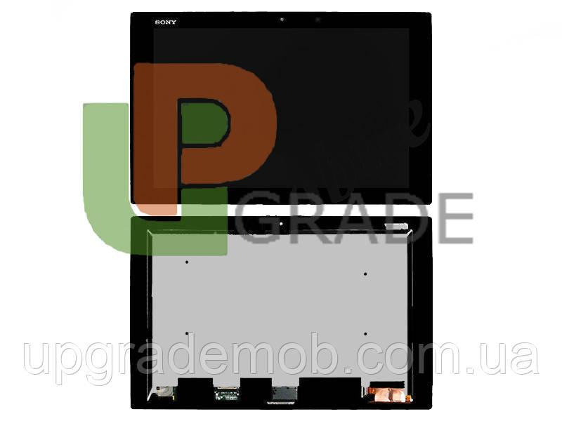 Дисплей для Sony Xperia Tablet Z2 + touchscreen, черный - UPgrade-запчасти для мобильных телефонов и планшетов в Днепре