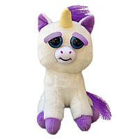 Интерактивная игрушка Feisty Pets Хорошие Злые животные Плюшевый Единорог Гленда 20 см