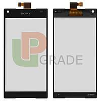 Тачскрин для Sony E5803 Xperia Z5 Compact mini/E5823, черный