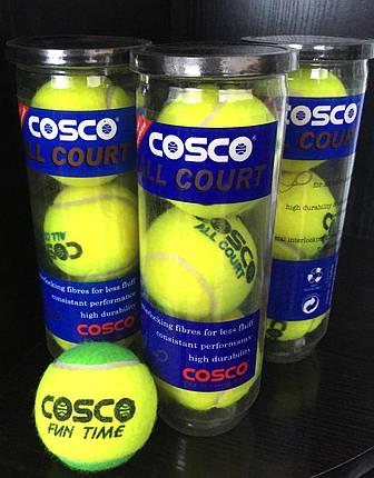 Тенісні м'ячі COSCO ALL COURT, фото 2