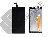 Дисплей для Xiaomi Mi3 + тачскрин, черный, оригинал (Китай)