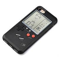 Чехол панель TETRIS CASE LAUDTEC WANLE для смартфонов iPhone X с игрой Тетрис Черный (SUN91149)