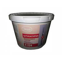 Декоративная штукатурка короед силиконовая для внутренних и наружных работ СП  224 25 кг.