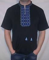 Мужская вышиванка с коротким рукавом купить оптом