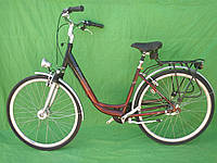 Жіночий велосипед, дамка Cunsting на планетарці, динамо