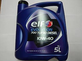 Моторне масло ELF Evolution 700 Turbo Diesel 10W40 5L