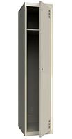 Шкаф одежный металлический 300/1, размеры 1800х300х500мм, гардеробный шкаф в раздевалку МСК2941300