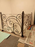 Кованые перила для лестницы, фото 2