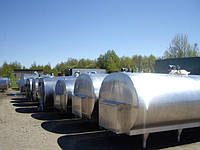 Охолоджувач молока 4000л б/у з холодильним агрегатом б/у