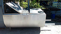 Охолоджувач молока 600л б/у з новим агрегатом компресорным, фото 1