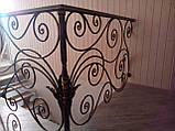 Кованые перила для лестницы, фото 5