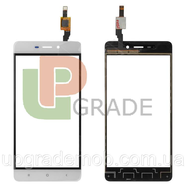 Тачскрин сенсор Xiaomi Redmi 4 белый