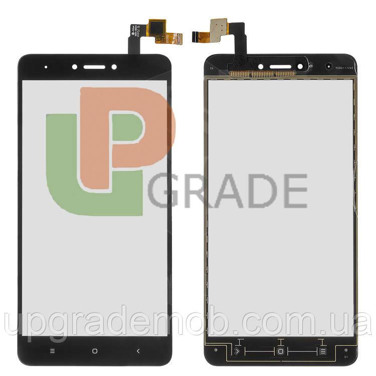 Тачскрин сенсор Xiaomi Redmi Note 4 черный