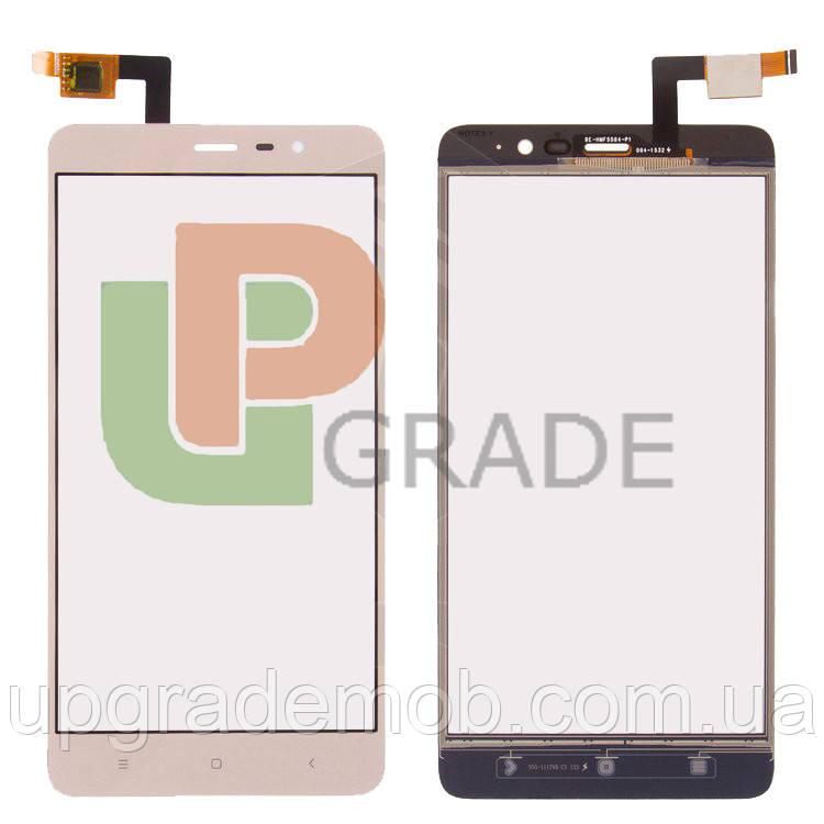 Тачскрин Xiaomi Redmi Note 3/Note 3 Pro, золотистый