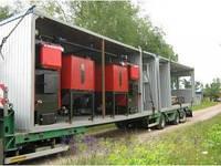 Блочно-модульные котельные на твердом топливе КзОТ от 100 кВт до 10 МВт