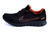 Мужские  летние кроссовки сетка  Ans orange Nike , фото 1