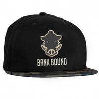 Кепка PROLOGIC BANK BOUND FLAT BILL CAP BLACK / CAMO