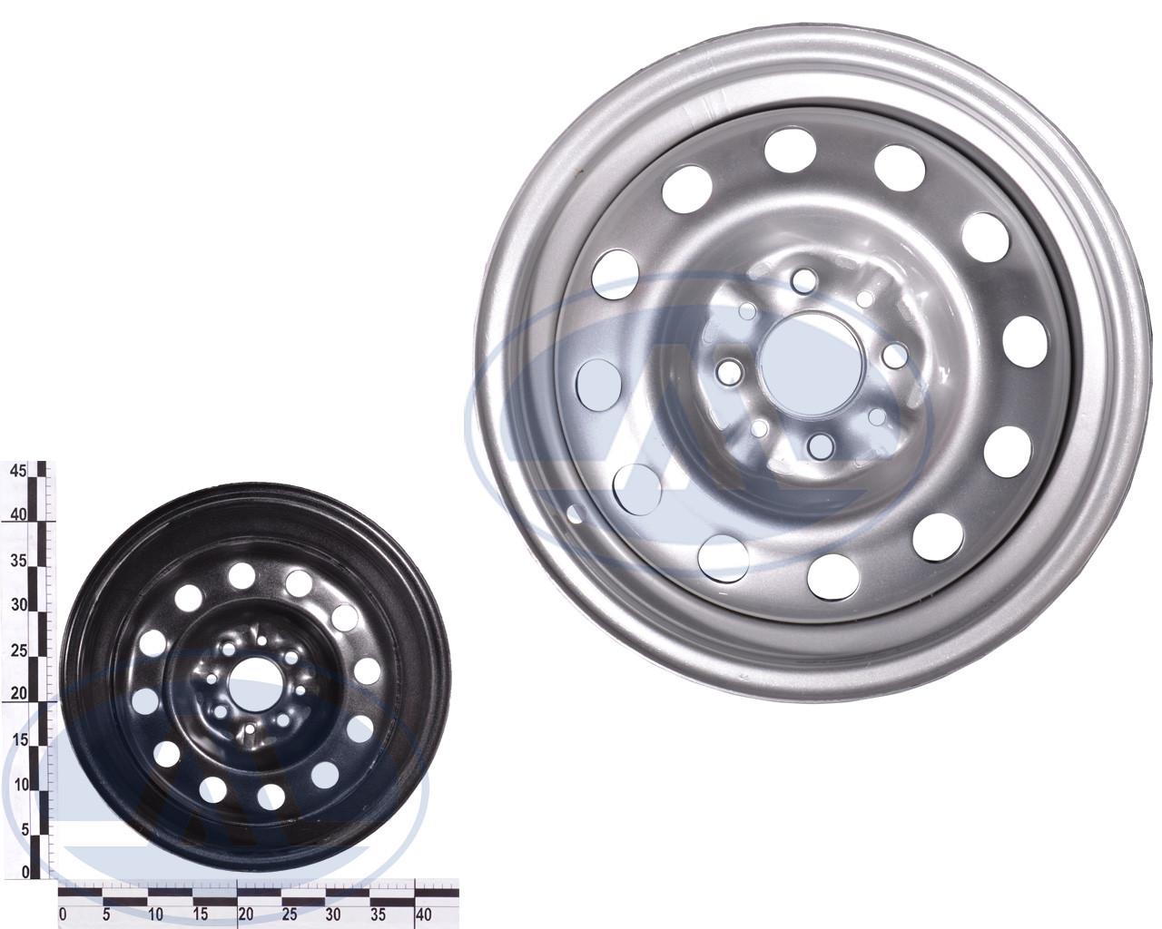 Диск колеса ВАЗ 2110-2112 серый