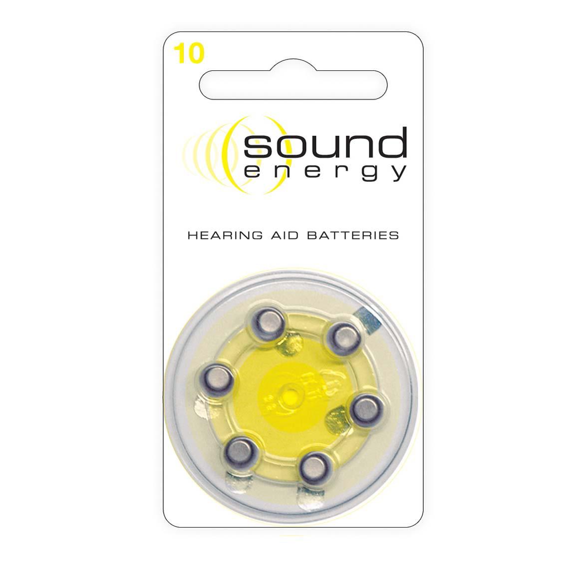 Батарейки для слуховых аппаратов Rayovac Sound Energy 10 (6шт)