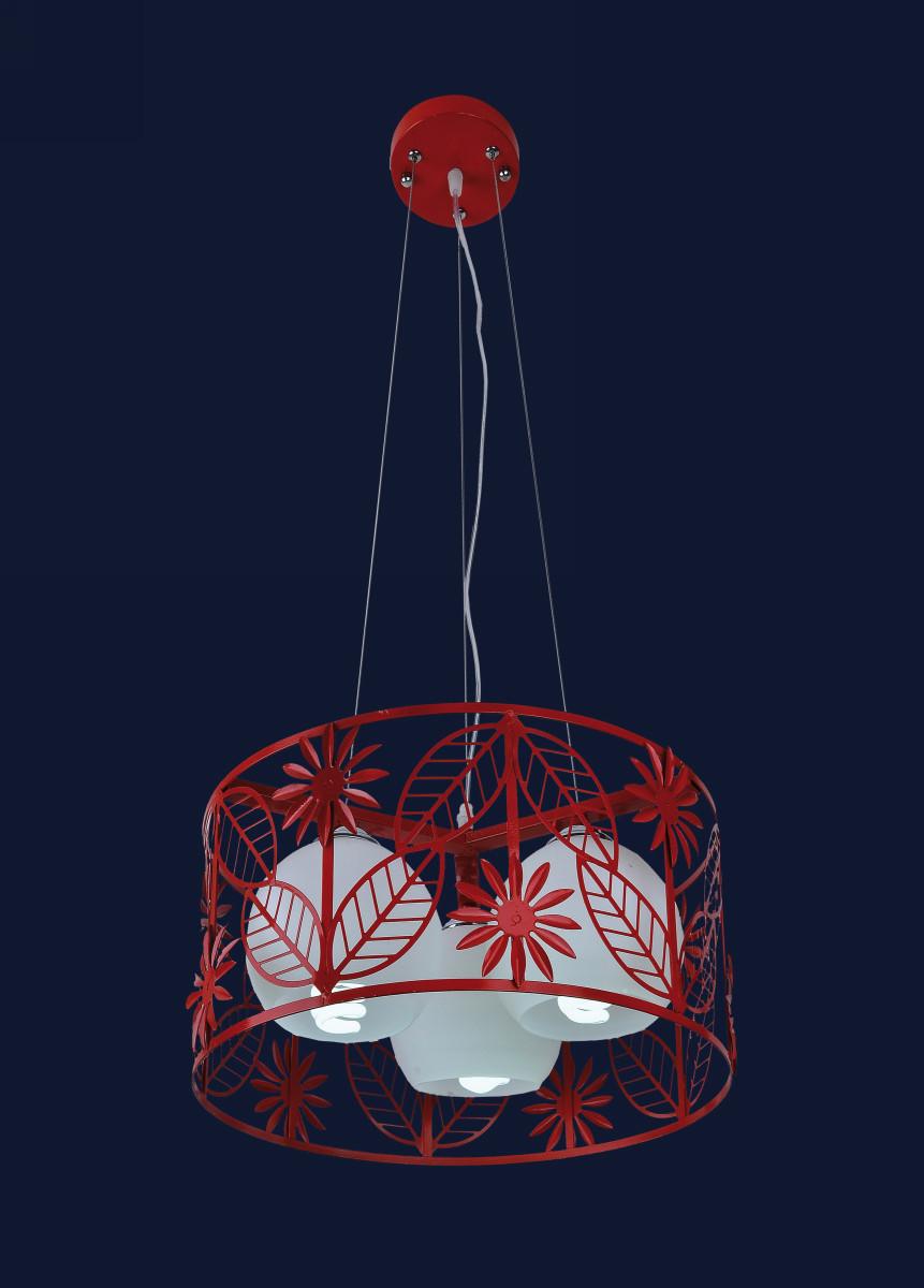 Светильник красного цвета 7076401-3 КРАСНЫЙ