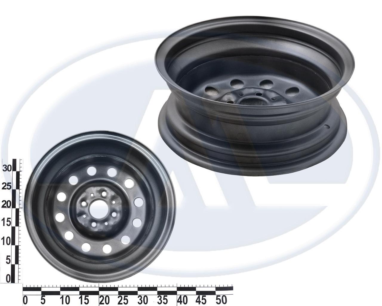 Диск колеса ВАЗ 2110-2112 стальной