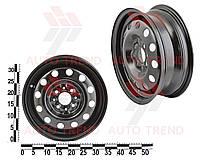 Диск колеса ВАЗ 2110-2112 черный