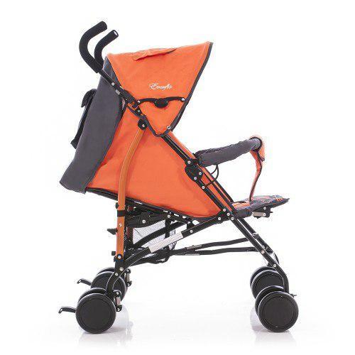 Коляска трость Everflo SK-166 (2013 год - открытые колеса)  orange