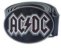 Пряжка AC/DC (овальная пряга), Комплект поставки товара Пряжка (без ремня)