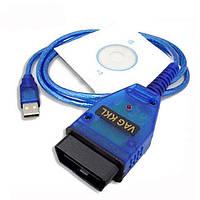 Адаптер VAG COM 409.1 USB KKL OBD2 сканер диагностики авто