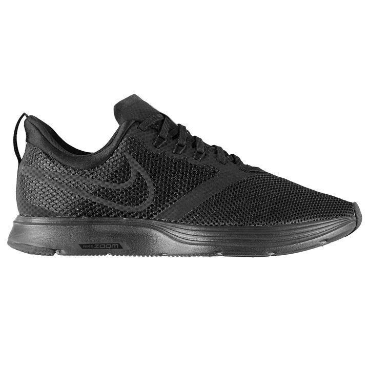 Мужские беговые кроссовки Nike Zoom Strike (AJ0189-010) черные оригинал
