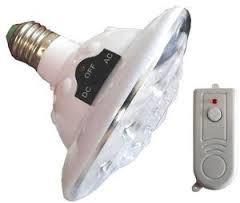 Светодиодная лампа с аккумулятором JL-678 с пультом