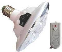 Светодиодная лампа с аккумулятором JL-678 с пультом, фото 1